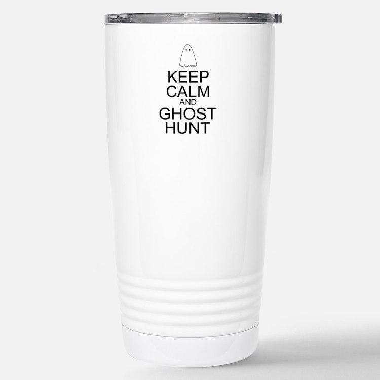 Keep Calm Ghost Hunt (Parody) Travel Mug