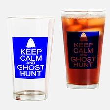 Keep Calm Ghost Hunt (Parody) Drinking Glass