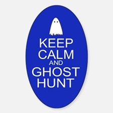 Keep Calm Ghost Hunt (Parody) Decal