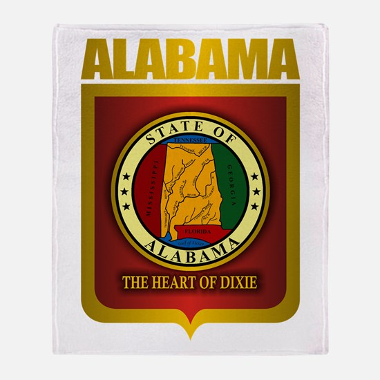 """Alabama Gold"" Throw Blanket"