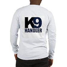 K9 Handler Black/Navy Long Sleeve T-Shirt