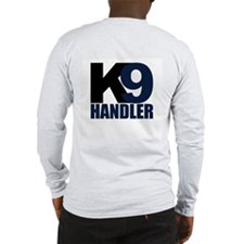 K9 Handler Black/Navy Long Sleeve T-Shirt