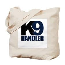 K9 Handler Black/Navy Tote Bag