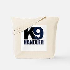 K9 Handler Black/Navy Tote Bag