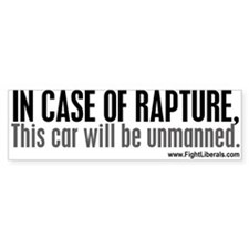 In Case of Rapture, This Car Will Be Unmanned