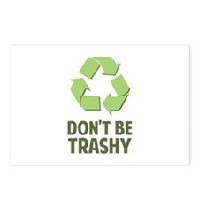 Don't Be Trashy Postcards (Package of 8)