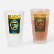 """Alaska Gold"" Drinking Glass"