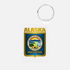 """Alaska Gold"" Keychains"