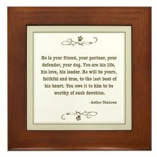 Your Friend Framed Tile