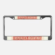 Argentinean Stamp - License Plate Frame