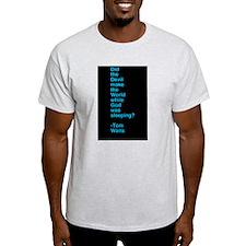 devil blue T-Shirt