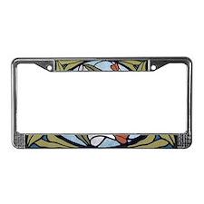Art Nouveau - License Plate Frame