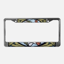 Art Nouveau - License Plate Frame