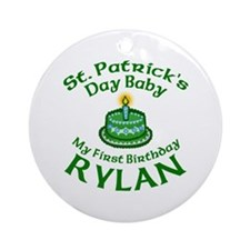 RYLAN Personalized Ornament (Round)