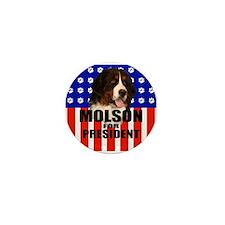 Molson For President Mini Button