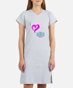 I LOVE DANCE - The DANCE Lounge Nightgown