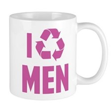 I Recycle Men Mug