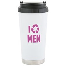 I Recycle Men Travel Mug