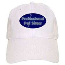 Professional Pet Sitter Oval Baseball Cap
