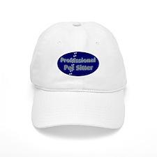 Professional Pet Sitter Oval Baseball Cap