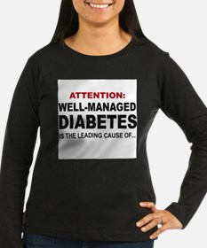Well Managed Diabetes Long Sleeve T-Shirt