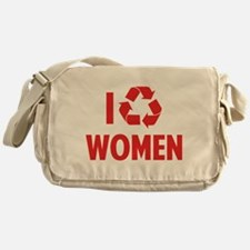 I Recycle Women Messenger Bag