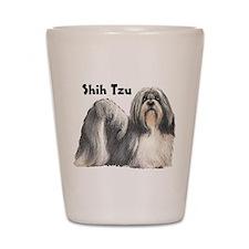 Shih Tzu Shot Glass