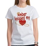 Amber Lassoed My Heart Women's T-Shirt