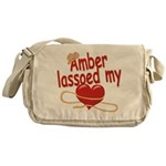 Amber Lassoed My Heart Messenger Bag
