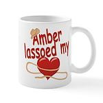 Amber Lassoed My Heart Mug