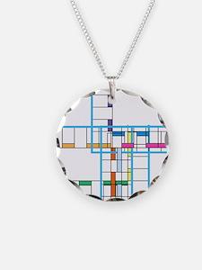Mondrianopoly Necklace