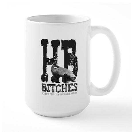 HB Bitches Large Mug