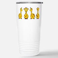 4 Giraffes Travel Mug