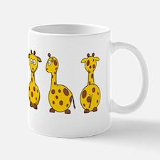 4 Giraffes Mug