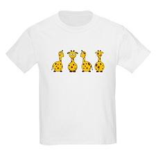4 Giraffes T-Shirt