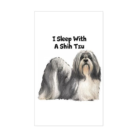 Shih Tzu Sticker (Rectangle)