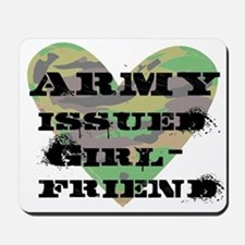 Army Issued Girlfriend Mousepad