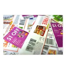 Couponing Postcards (Package of 8)