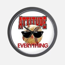 Attitude is Everything Wall Clock