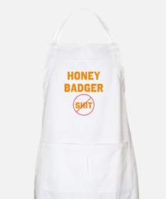 Honey Badger Don't Give a Shi Apron
