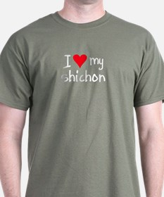 I LOVE MY Shichon T-Shirt