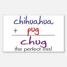 Chug PERFECT MIX Decal