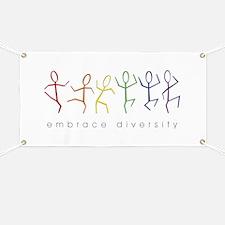 dancing rainbow Banner