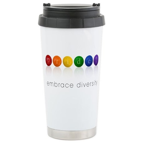 pride candy Stainless Steel Travel Mug