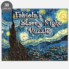 Fabiola's Starry Night Puzzle