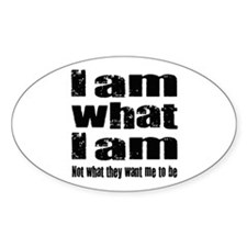 I am what I am Decal