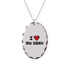 I Love My Geek Necklace