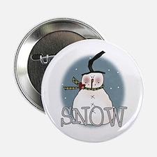 Primsical Snowman Button
