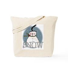 Primsical Snowman Tote Bag