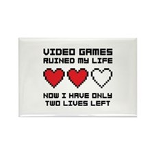 Video Games Rectangle Magnet